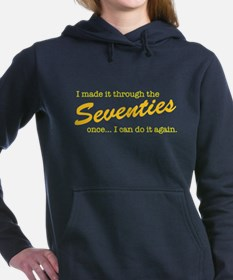 Made It Through the Seventies (light) Hooded Sweat