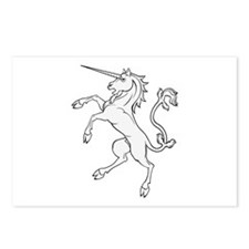 Powerful Unicorn Postcards (Package of 8)