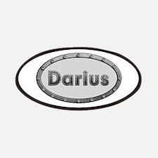 Darius Metal Oval Patch