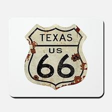 Texas Route 66 - Mousepad