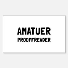 Proofreader Decal