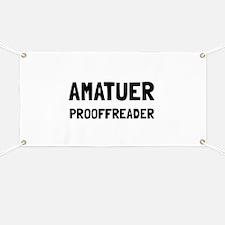 Proofreader Banner