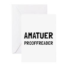 Proofreader Greeting Cards