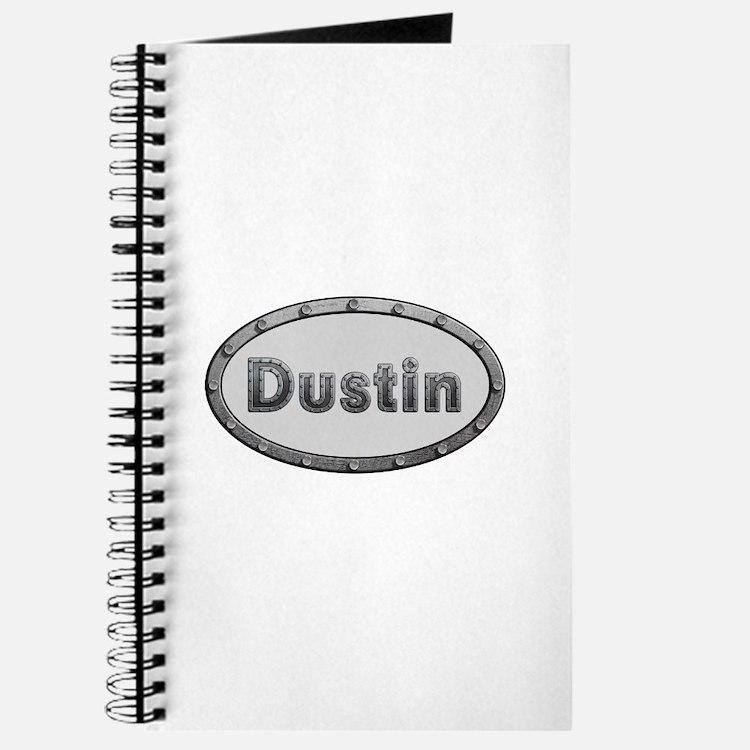 Dustin Metal Oval Journal