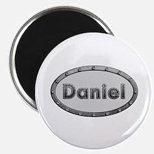 Daniel Metal Oval Round Magnet