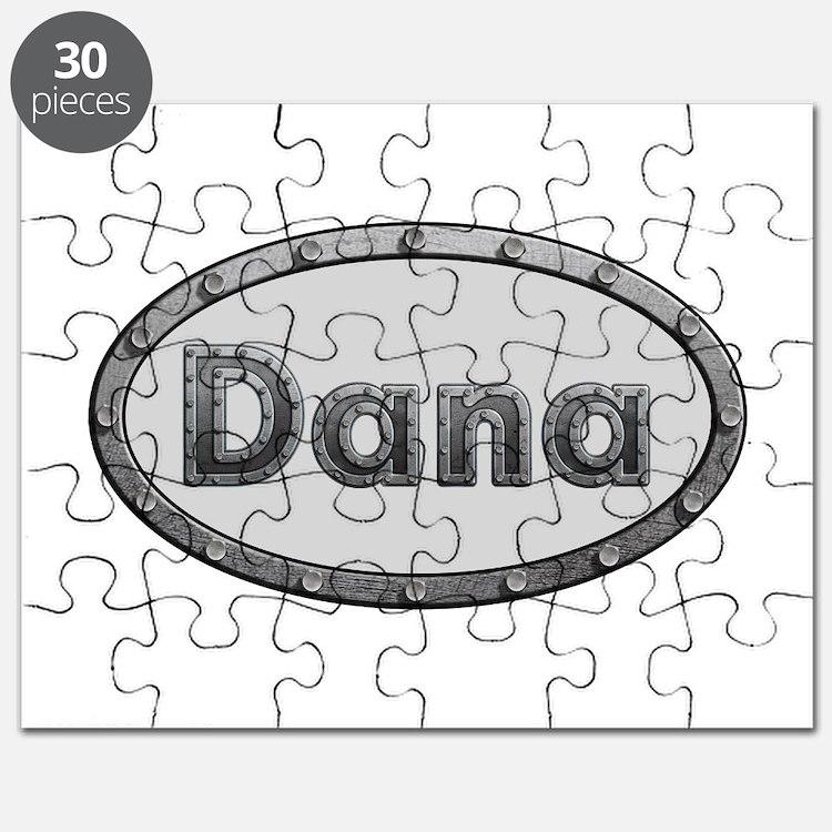Dana Metal Oval Puzzle