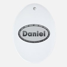 Daniel Metal Oval Oval Ornament