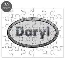 Daryl Metal Oval Puzzle