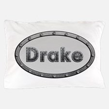 Drake Metal Oval Pillow Case