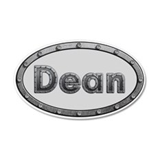 Dean Metal Oval Wall Decal