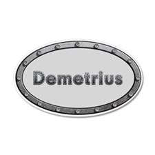 Demetrius Metal Oval Wall Decal