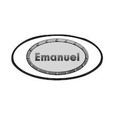 Emanuel Metal Oval Patch