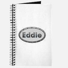 Eddie Metal Oval Journal