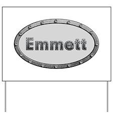 Emmett Metal Oval Yard Sign