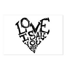 Love Is All You Need Postcards (Package of 8)