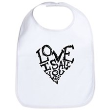 Love Is All You Need Bib