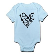 Love Is All You Need Body Suit