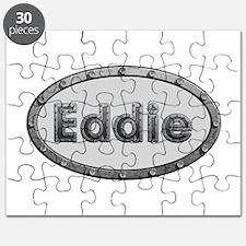 Eddie Metal Oval Puzzle