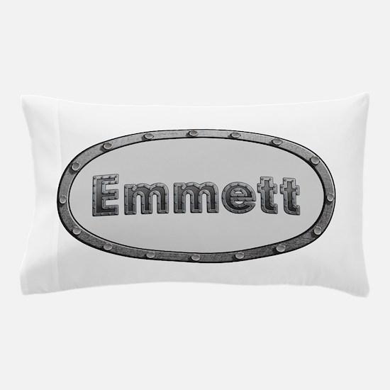 Emmett Metal Oval Pillow Case