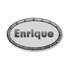 Enrique Metal Oval Wall Decal
