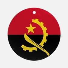 Flag of Angola Ornament (Round)