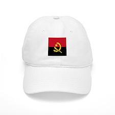 Flag of Angola Baseball Cap