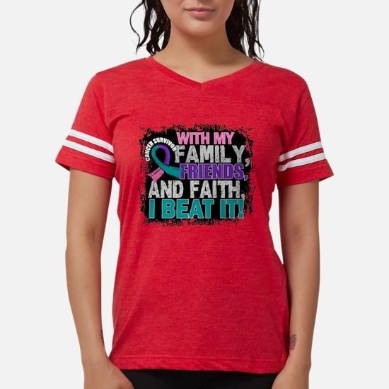 Thyroid Cancer Survivor FamilyFriend T-Shirt