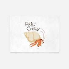 Feelin Crabby 5'x7'Area Rug