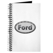 Ford Metal Oval Journal