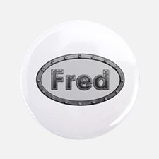 Fred Metal Oval Big Button 100 Pack