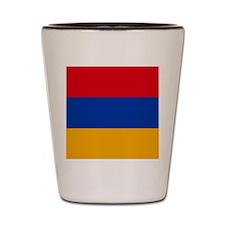 Flag of Armenia Shot Glass