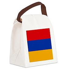 Flag of Armenia Canvas Lunch Bag