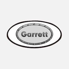 Garrett Metal Oval Patch