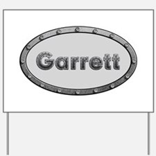 Garrett Metal Oval Yard Sign