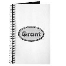 Grant Metal Oval Journal