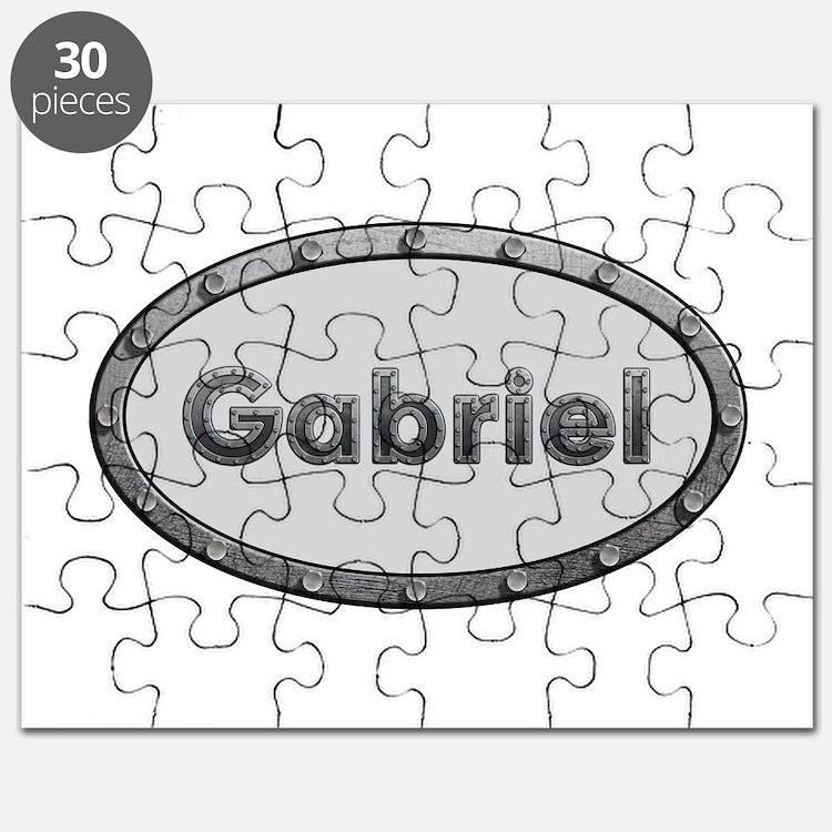 Gabriel Metal Oval Puzzle