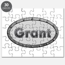 Grant Metal Oval Puzzle