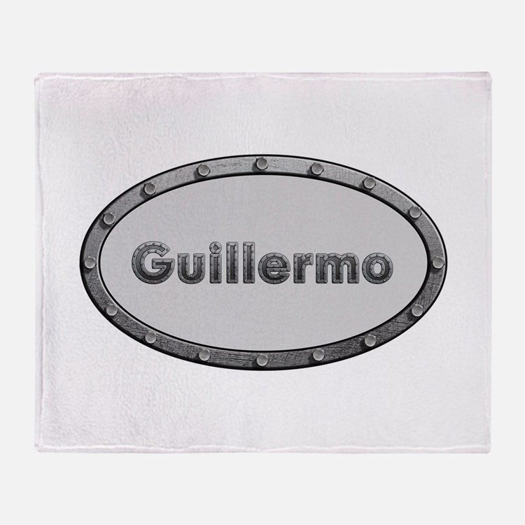 Guillermo Metal Oval Throw Blanket