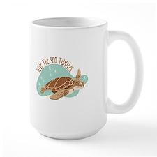 Save the Sea Turtles Mugs