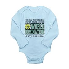 World Domination Bedtime Body Suit