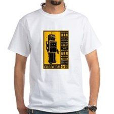 Quelstar ElectroMan Box Art Black T-Shirt