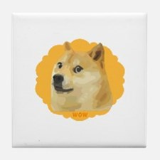 MuchDoge. Tile Coaster