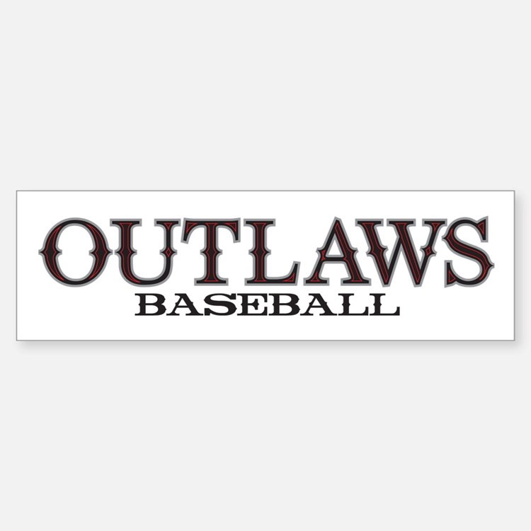 Arizona Outlaws Basic Bumper Bumper Sticker