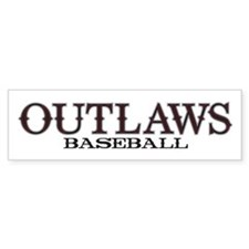 Arizona Outlaws Basic Bumper Sticker