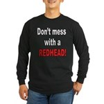 Redhead Long Sleeve Dark T-Shirt
