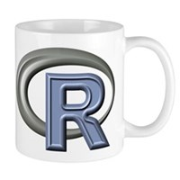 R Programming Language Logo Mugs