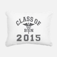 Class Of 2015 BSN Rectangular Canvas Pillow