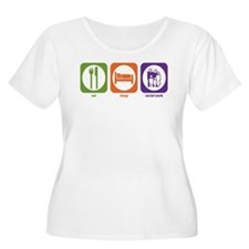 social work worker counselor 2 Plus Size T-Shirt