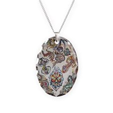 Gregg Higgin's Flash Art Necklace Oval Charm