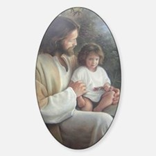 Jesus with child Decal